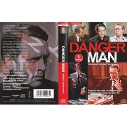 Danger Man Hour Long Episodes 声带 (Edwin Astley) - CD后盖