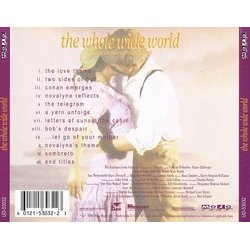The Whole Wide World Soundtrack (Harry Gregson-Williams, Hans Zimmer) - CD Back cover