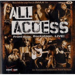 All Access: Front Row. Backstage. Live! Colonna sonora (Various Artists) - Copertina del CD