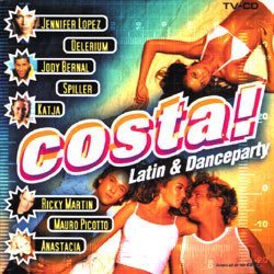 Costa!, Latin & Danceparty Soundtrack (Various Artists) - Car�tula