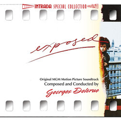 Exposed Soundtrack (Georges Delerue) - CD cover