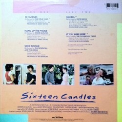 Film Music Site Sixteen Candles Soundtrack Various