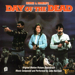 Day of the Dead Soundtrack (John Harrison) - Carátula