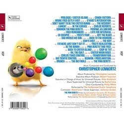 Hop Soundtrack (Christopher Lennertz) - CD Trasero