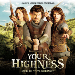 Your Highness Soundtrack (Steve Jablonsky) - Carátula