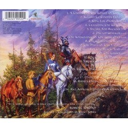 The Wheel of Time Soundtrack (Robert Berry) - CD Back cover