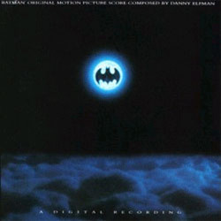 Batman Soundtrack  (Danny Elfman) - CD cover