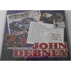 Snow Dogs Soundtrack (John Debney) - CD Back cover