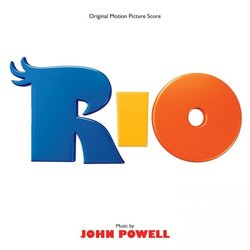 Rio Soundtrack (John Powell) - CD cover