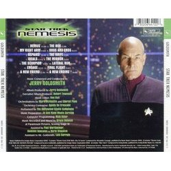 Star Trek: Nemesis Soundtrack (Jerry Goldsmith) - CD Trasero