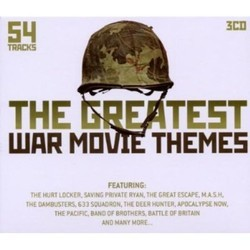 The Greatest War Movie Themes Soundtrack (Various Artists) - Carátula