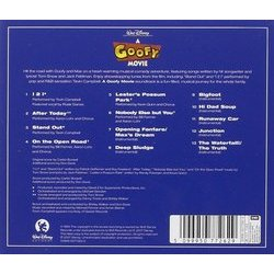 A Goofy Movie Soundtrack (Various Artists, Carter Burwell) - CD Trasero