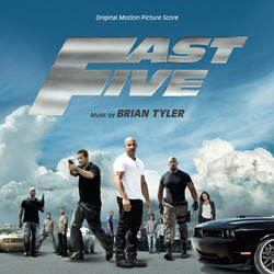 Fast Five Soundtrack (Brian Tyler) - CD cover