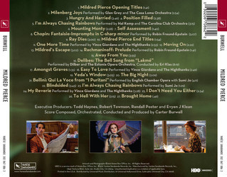 Mildred Pierce Soundtrack (Carter Burwell) - CD Trasero