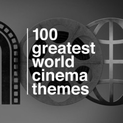 100 Greatest World Cinema Themes Soundtrack (Various Artists) - CD-Cover