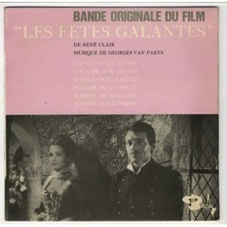 Les Fêtes galantes Soundtrack (Georges Van Parys) - CD-Cover