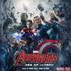 Avengers: Age of Ultron Soundtrack (Danny Elfman, Brian Tyler) - CD cover