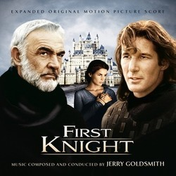 First Knight Soundtrack (Jerry Goldsmith) - CD cover