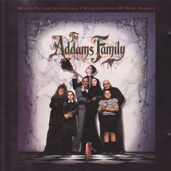 The Addams Family Soundtrack (Marc Shaiman) - CD-Cover