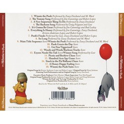 Winnie the Pooh Trilha sonora (Henry Jackman) - CD capa traseira
