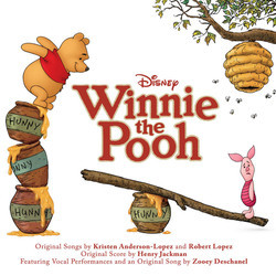 Winnie the Pooh Soundtrack (Henry Jackman) - CD cover