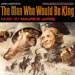 The Man Who Would Be King Soundtrack (Maurice Jarre) - CD cover