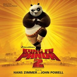 Kung Fu Panda 2 Soundtrack (John Powell, Hans Zimmer) - CD cover