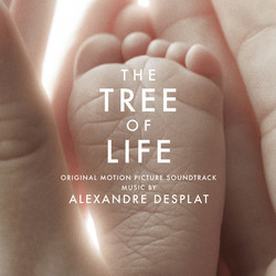 The Tree of Life Soundtrack (Alexandre Desplat) - CD cover