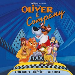 Oliver & Company Soundtrack (Various Artists, J.A.C. Redford) - Car�tula