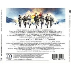 Age of Heroes Soundtrack (Michael Richard Plowman) - CD Trasero