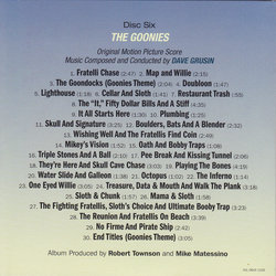 Back In Time...The Concert Experience サウンドトラック (Various Artists, Dave Grusin, David Newman, Alan Silvestri) - CD裏表紙