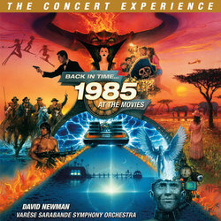 Back In Time...The Concert Experience サウンドトラック (Various Artists, Dave Grusin, David Newman, Alan Silvestri) - CDカバー