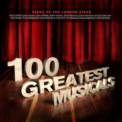 100 Greatest Musicals Colonna sonora (Various Artists, Various Artists) - Copertina del CD
