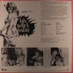 His Wife's Habit Soundtrack (Norma Green, Jim Helms, Gary Le Mel) - CD Trasero