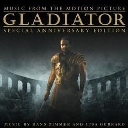 Gladiator Soundtrack (Klaus Badelt, Lisa Gerrard, Hans Zimmer) - CD cover