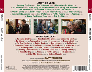 Another Year Soundtrack (Gary Yershon) - CD Trasero