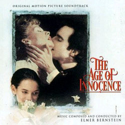 The Age of Innocence Soundtrack (Elmer Bernstein) - CD cover