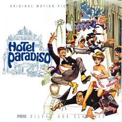 The Comedians / Hotel Paradiso Soundtrack (Laurence Rosenthal) - Carátula
