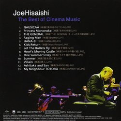 Joe Hisaishi: The Best of Cinema Music サウンドトラック (Jô Hisaishi) - CD裏表紙
