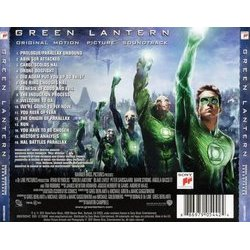 Green Lantern Trilha sonora (James Newton Howard) - CD capa traseira