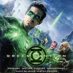 Green Lantern Trilha sonora (James Newton Howard) - capa de CD