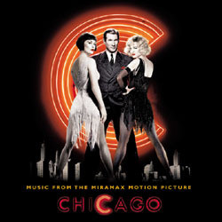 Chicago Soundtrack (Fred Ebb, Danny Elfman, John Kander) - CD cover