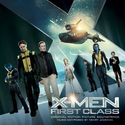 X-Men: First Class Colonna sonora (Henry Jackman) - Copertina del CD