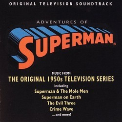 Adventures of Superman Soundtrack (Leo Klatzkin) - Carátula
