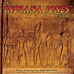 The Indiana Jones Trilogy Soundtrack  (John Williams) - CD cover