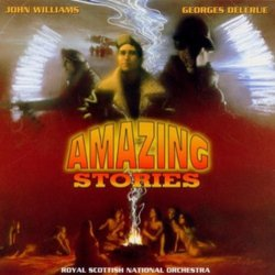 Amazing Stories Soundtrack  (Georges Delerue, John Williams) - CD cover