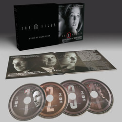 The X-Files: Volume One Soundtrack (Mark Snow) - cd-car�tula