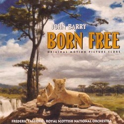 Born Free Soundtrack (John Barry) - CD cover
