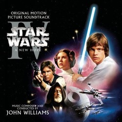 Star Wars Episode IV: A New Hope Soundtrack (John Williams) - CD cover