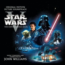 Star Wars Episode V: The Empire Strikes Back Colonna sonora (John Williams) - Copertina del CD